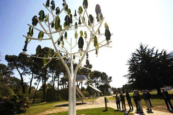 Biometric Energy Trees – Aeroleaf | NewWind