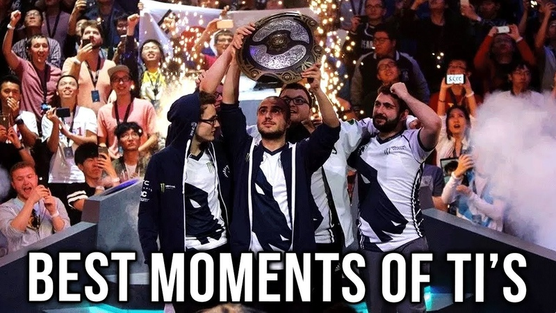 Best Moments of All TI's - Dota 2 EPIC HYPE VIDEO