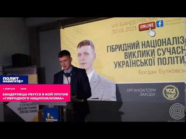 Бандеровцы рвутся в бой против «гибридного национализма»
