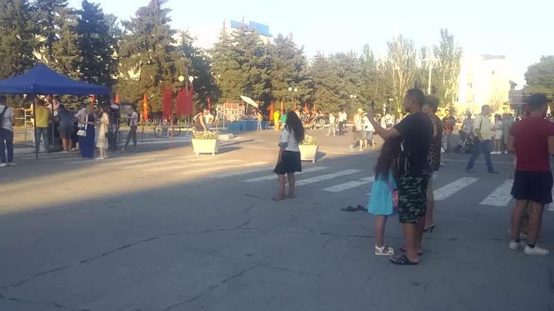 Танцует Анжела город Бендеры День освобождения Лето 2020 ч 3