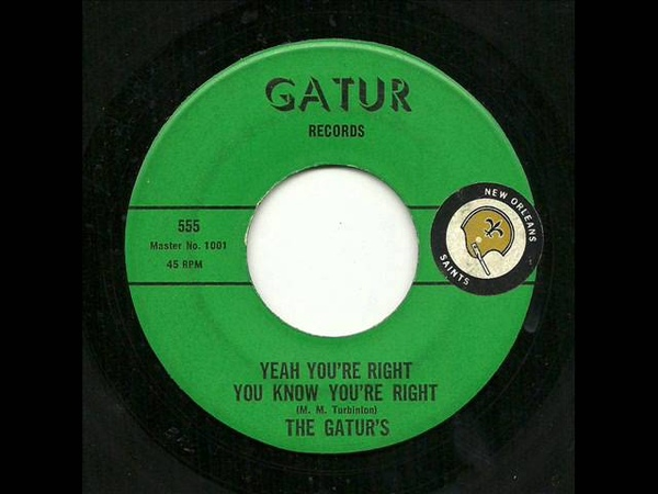 The Gaturs - Yeah Youre Right You Know Youre Right (Gatur)