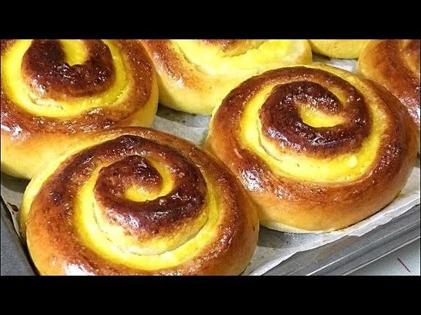ТВОРОЖНЫЕ ЗАВИТУШКИ Curd buns Рецепты от Галины