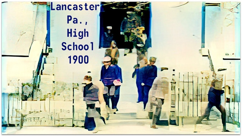 Lancaster Pa High School 1900