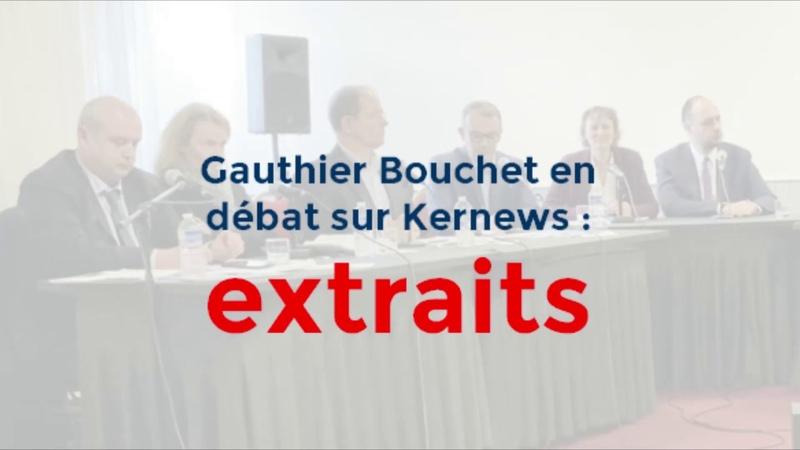 Gauthier Bouchet en débat sur Kernews extraits