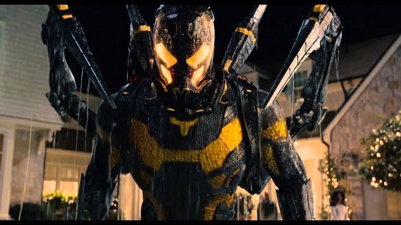 Человек муравей жёлтый шершень