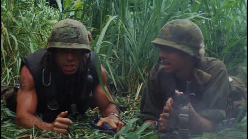 Кроме меня никто не читал сценарий очень натурально входим в образ стреляет из м16 не боится Солдаты неудачи