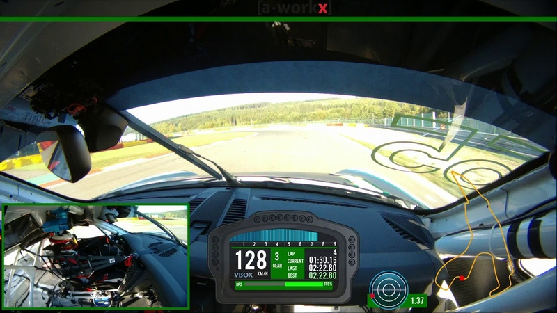 Onboard Porsche Cup in Spa Francorchamps Nico Bastian 2 21 7