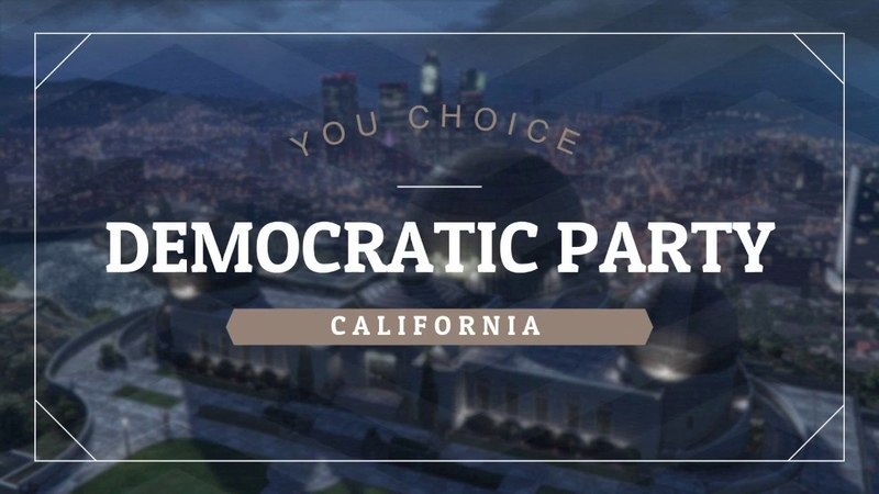 SAMP NET | California Democratic Party. Рекламный ролик