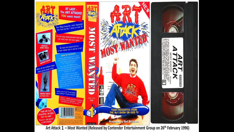 Art Attack 1 - Most Wanted, Art Attack 2 - Crazy Cartoons and Dazzling Drawings, Art Attack 3 - Lets Party!