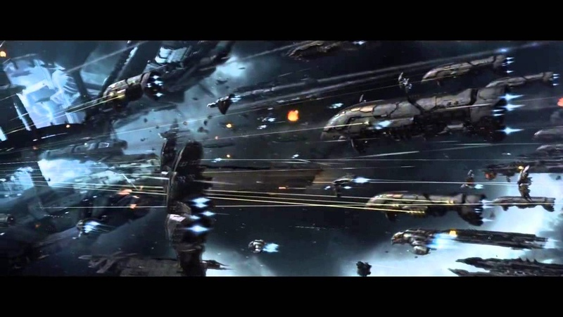 Epic Space Battles with Epic Music 2 Mass Effect 3 and EVEonline Montage Protectors of the Earth