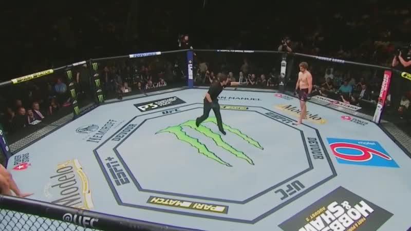 Jorge Masvidal vs Ben Askren - full 5 Seconds Fight