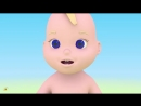 Учим части тела. Учимся с Масиком_ лицо. Развивающий мультфильм от 12 до 36 меся