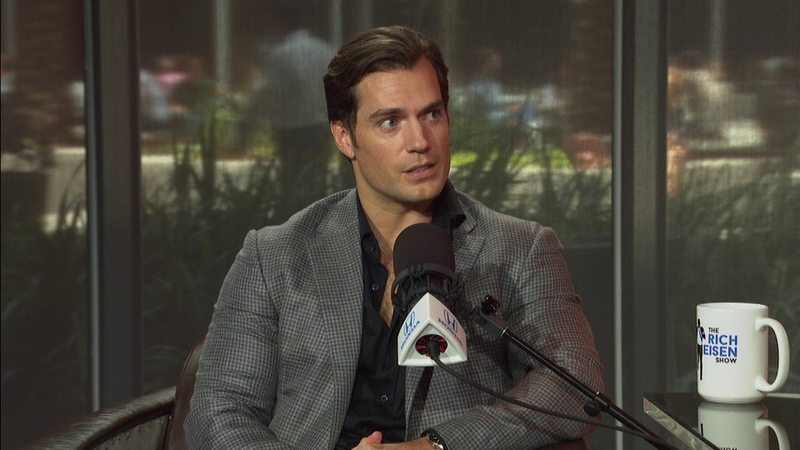 Henry Cavill Talks 'Mission Impossible Fallout ' James Bond More w Rich Eisen Full Interview