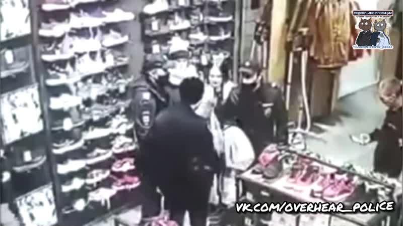 В Иркутске полицейский задержал 15 летнюю воровку придушив ее коленом к полу
