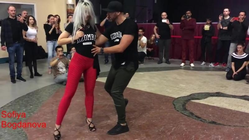 Красавица Сара Лопес и Иво Виера под песню Игоря Ашурова Любимая голубка