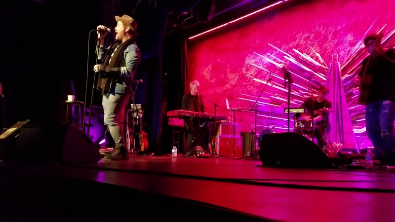 David Cook GIMME HEARTBREAK (partial) - Sony Hall NYC 11/12/2018