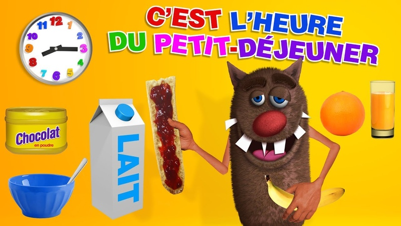 C'est l'Heure de prendre le petit déjeuner It's Time to Have Breakfast for kids 4k