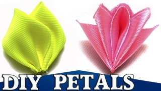 Flower Petals | How to Make | DIY Kanzashi Tatiana Vasyliuk