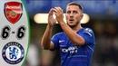 Arsenal vs Chelsea 6-6 - Highlights Goals Resumen Goles (Last Matches) HD