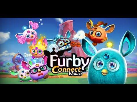 Furby Connect World App Игра Фёрби Fun Games For Kids To Play Детский канал Polinka Life