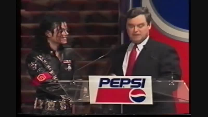 Michael Jackson - Pepsi Press Conference, New York 1992 (promo-VHS-rip)