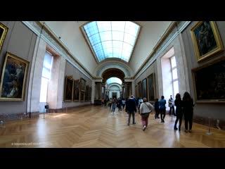 Inside Louvre Museum Paris, Mona Lisa - (Part 1) 🇫🇷 France - 4K Virtual Tour