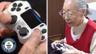 Meet the 90 year old gamer grandma! - Guinness World Records