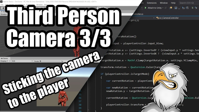 [Unity Development Tutorial Part 3] GTA Like 3rd Person Camera Tutorial | 33