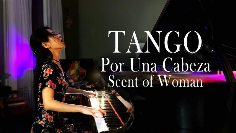 Por Una Cabeza Carlos Gardel Movie Scent of a Woman Tango Piano by Sangah Noona w Sheet Music