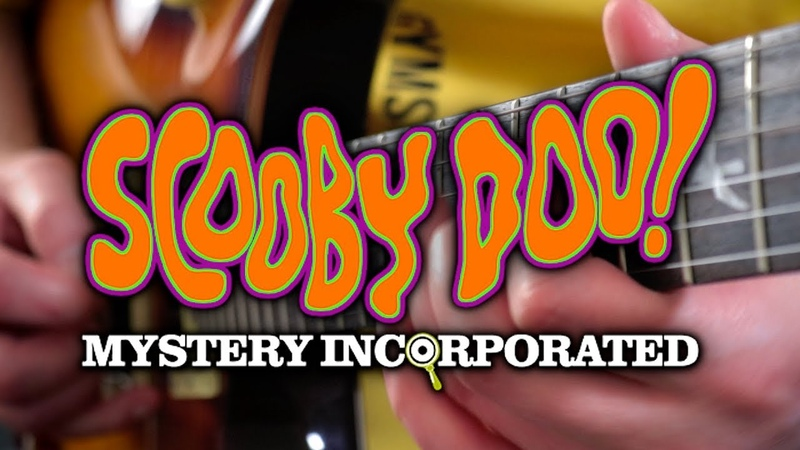 Scooby Doo Mystery Incorporated Theme on Guitar