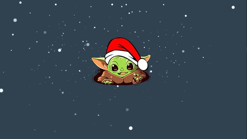 Baby Yoda the Mandalorian Christmas