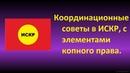 Самоуправление ИСКР,координационные советы с элементами копного права.