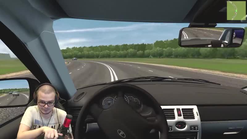 Bulkin Навожу Суету В Городе На Оперской Приоре City Car Driving С Рулём
