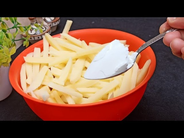 Le Secret des Pommes de terre Croustillantes et Sèches‼️👌 Recette des FRITES Parfaites Make fries