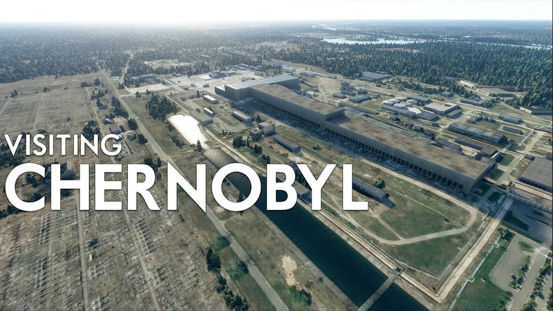 Microsoft Flight Simulator 2020 Visiting CHERNOBYL
