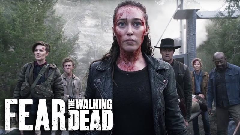Fear the walking dead Бойтесь ходячих мертвецов Season 6B Extended Official Trailer