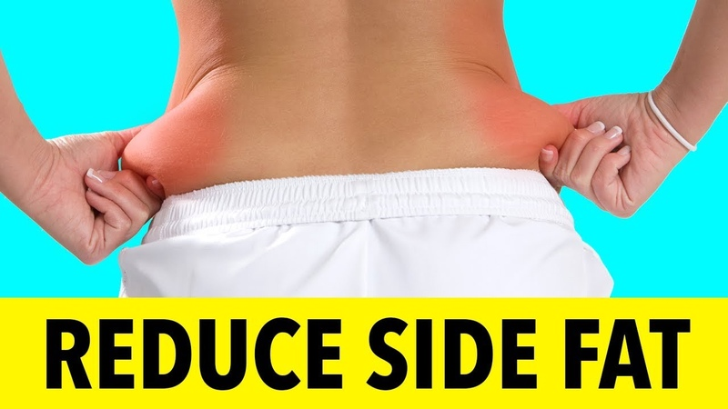 9 Min Reduce Side Fat And Tone Your Back - Easy Exercises