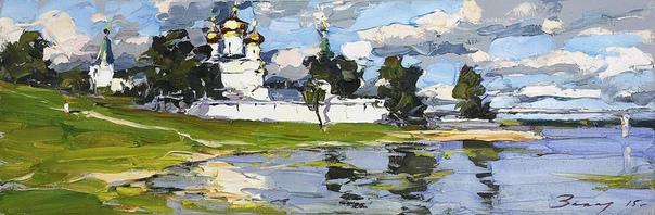 Андрей Захаров  заслуженный художник России, академик Российской Академии художеств, лауреат премии Центрального Федерального Округа в области литературы и искусства