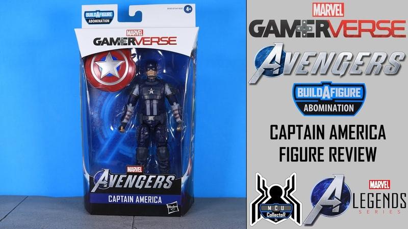 Marvel Legends CAPTAIN AMERICA Avengers GamerVerse Abomination BAF Wave Figure Review