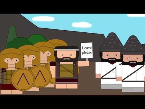 Двоевластие в Древней Спарте Смешанная Конституция Спарты