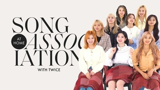 TWICE Sings Adele, Adam Levine, and PSY in a Game of Song Association | ELLE