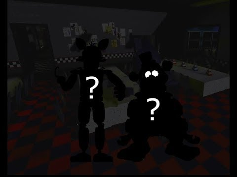Как открыть секретных персонажей в Fredbear's Mega Roleplay