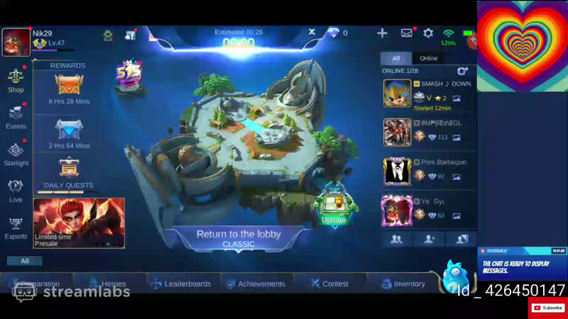 Mobile legends live | mlbb india gameplay mpl | playing for SAVAGE YT 2020
