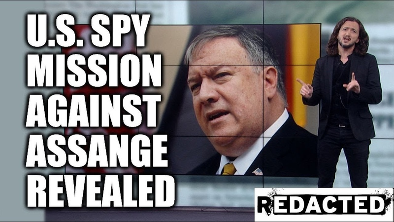 ~293~ U.S. Spy Mission Against Assange Revealed