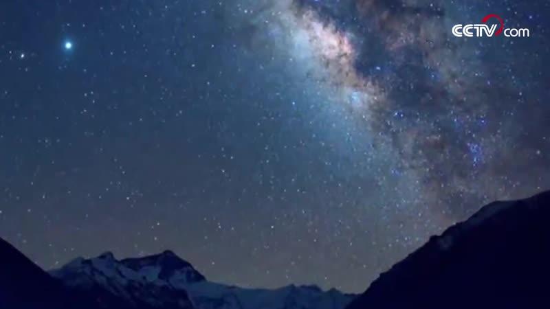 Звездное небо над вершиной мира