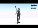 New Sparkler Emote Animation Price 200 V-Bucks