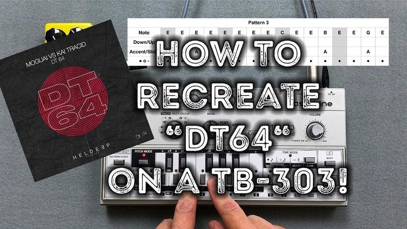 TB-303 pattern of MOGUAI vs. Kai Tracid DT64 – Roland TB-303 MXR Distortion