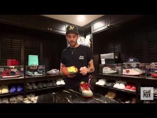 Рэпер G-Eazy о своих кроссовках.