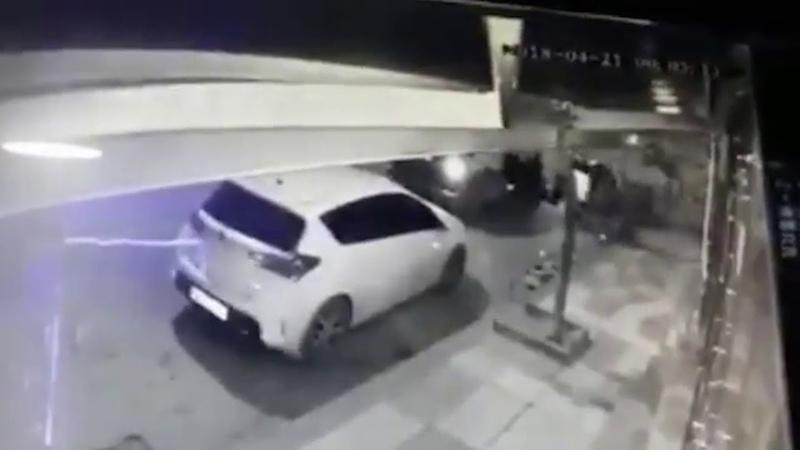 Запись о похищении турецкого гражданина в Анкаре