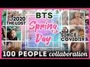 봄을 잃은 100명의 대학생과 시민들이 부르는 BTS Spring Day 방탄소년단 봄날 Cover